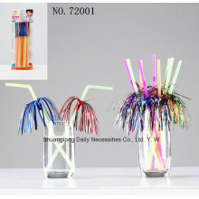 Flower Happy Holiday Creative Fireworks Straws