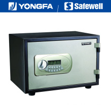 Yongfa 38cm Height Ale Panel Electronic Fireproof Safe with Knob