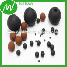 Fabricação da fábrica da China Personalize a bola de borracha resistente ao calor OEM