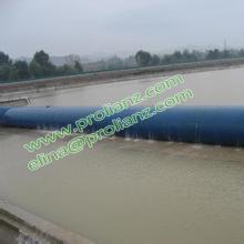 China Red Rubber Bag bexiga Dam para a África do Sul