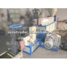 Máquina de extrusão de reciclagem de plástico de parafuso único