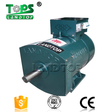 10kw 1500rpm brush alternator 100% gerador de energia