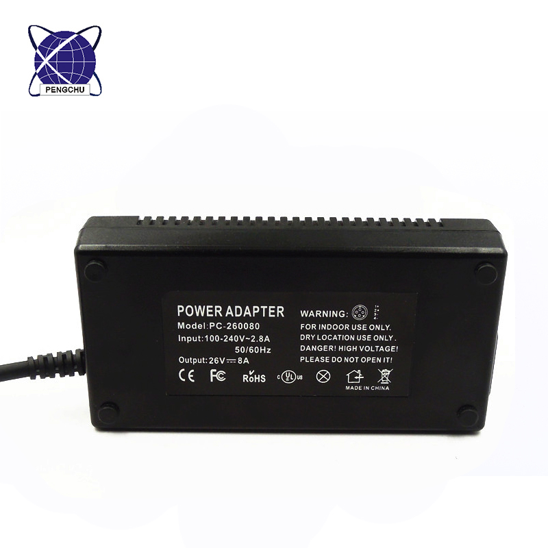 26V 8A power supply adapter