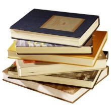 Impression de livre de couverture rigide adaptée aux besoins du client d'impression offset de qualité