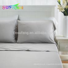 Conjunto de cama Tencel / Cool Touch Lycell Bambu com pacote completo de serviço / conjunto de cama Lycell