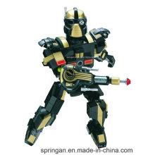 Robot de infantería diseñador de la serie Transformer 200PCS bloquea juguetes