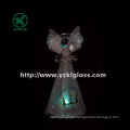 Holding Star Glass Angle for Home Decoration by BV, SGS (8*7*15.5 cm)