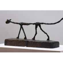 sculpture de chat giacometti