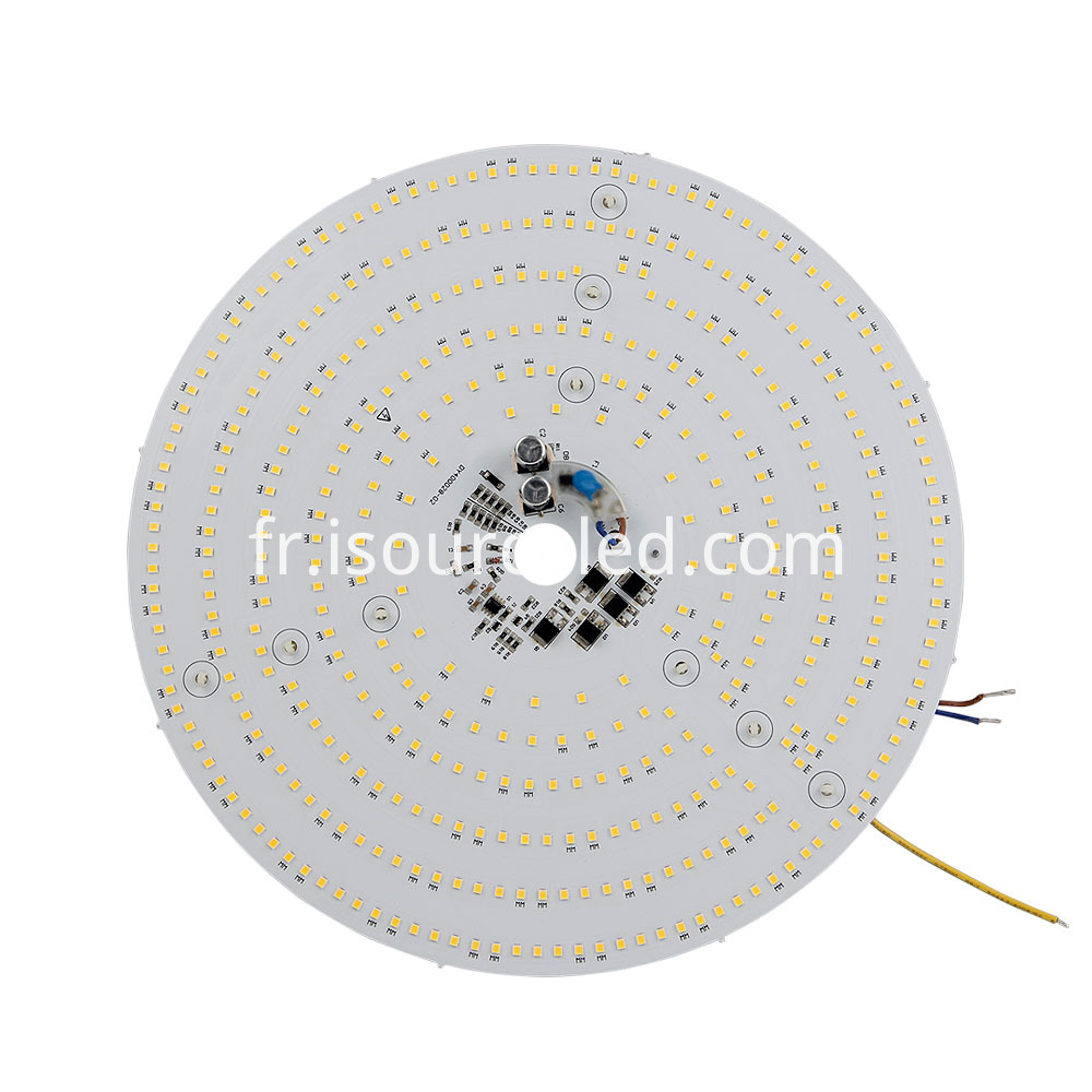 Warm white light 40W panel light dimming module front
