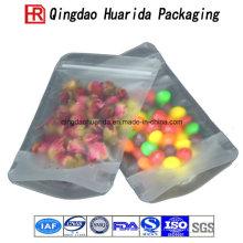 Aluminiumfolie Ziplock weiche Süßigkeits-Snack-Plastiktaschen, die verpacken