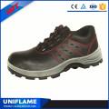 Zapatos de trabajo de seguridad S1 de la PU de acero respirable del dedo del pie