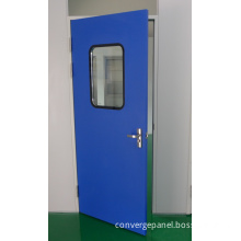 Cleanroom Powder Coated Steel Door