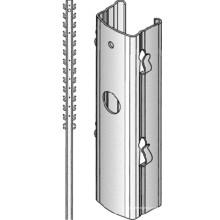 American Market T Type Metal Fence Posts Machine à former des rouleaux