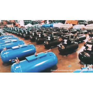 Compressor de ar da movimentação de correia do motor da gasolina do poder da mangueira do tanque 13 de 300 litros