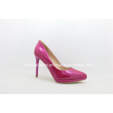 New Fashion Sexy Platform High Heels Leather Women Shoes