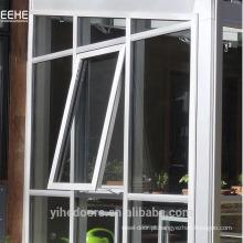 Janela de alumínio de batente com abertura para parede de cortina