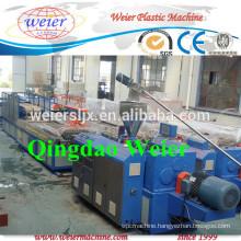 wpc pvc profile manufacture extruder machine line