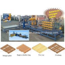 Machine d'assemblage de palettes en bois de haute qualité Machine à assembler des ongles