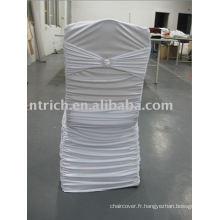 Couverture de chaise de Lycra, couverture de chaise de spandex, couverture de chaise de banquet/hôtel, couverture de chaise de mariage