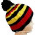 Knitted Beanie with POM POM NTD39