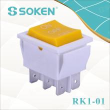 Soken Momentáneo encendido en el interruptor oscilante