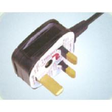 Los cables de alimentación de BSI de Reino Unido