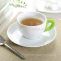Taza y platillo de café de cerámica 160cc