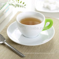 160cc ceramic coffee cup and saucer
