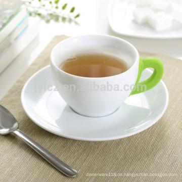 160cc Keramik Kaffeetasse und Untertasse