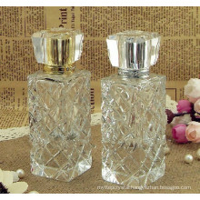 High quality crystal clear perfume bottle for gift favors and decoration CP-007