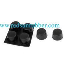 3m amortecedores pequenos adesivos de borracha de silicone