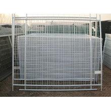 Barato galvanizado livre permanente estaleiro temporário portátil para cães