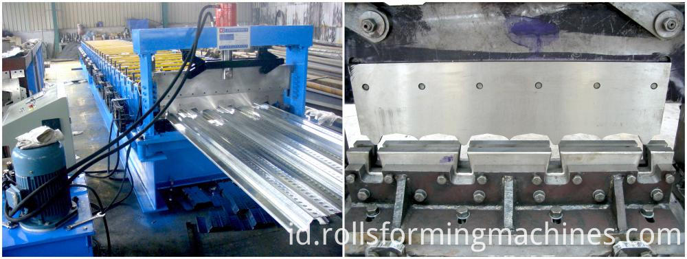 Sheet Metal Floor Decking Forming Machine 02