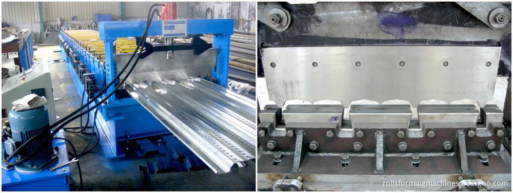Hydraulic Metal Rolls Flat Steel Machine
