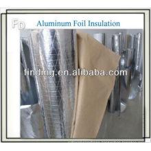 Polyisocyanurate aerogel insulation foil