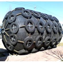 Pára-choque de borracha pneumático de Yokohama do fuzileiro naval da doca de 2M * 3M