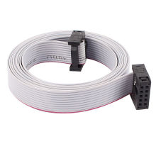 UL2651 26-28AWG 1.27mm 2.54mm Pitch IDC Connector Flat Ribbon Cable