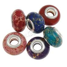2015 Gets.com Europäische Edelstein Perlen, Material kann OEM