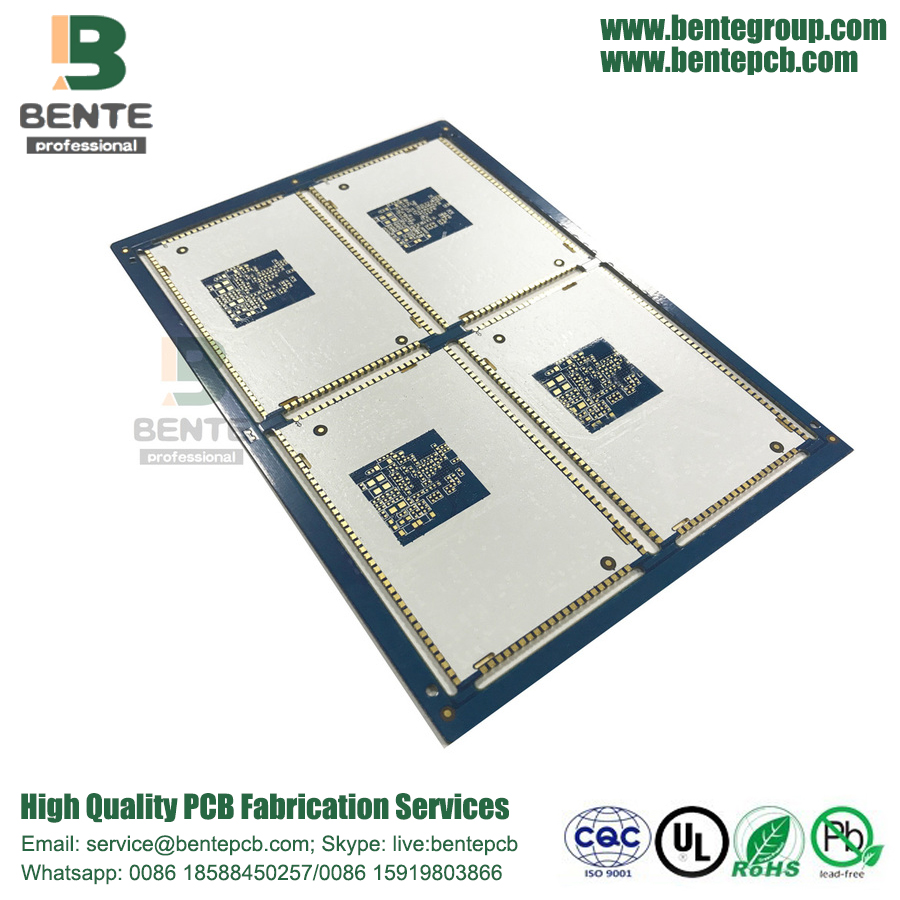 6-Layers Multilayer PCB Board FR4 Tg150 ENIG 2U