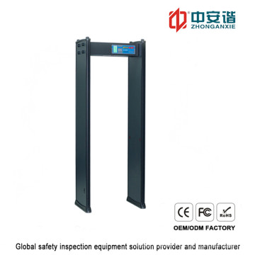 Inspektion Menschlicher Körper 200 Empfindlichkeitsstufe Digitaler Metalldetektor mit Passwortschutz