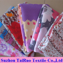 Microfiber Bed Sheet with Disperse Printed for Home Bedsheet Fabric