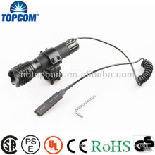 Tactical Led Flashlight With Gun Mount&Remote Switch