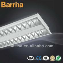 Lámpara de rejilla fluorescente de ahorro de energía con doble tubo