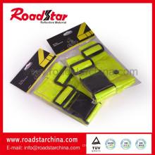 Industrial reflective waist belt with shoulder belt