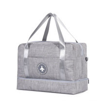 Overnight Weekend Dry Shoulder Tote Wet Separated Travel Duffle Bags Sports Gym Bag with Shoes Compartment