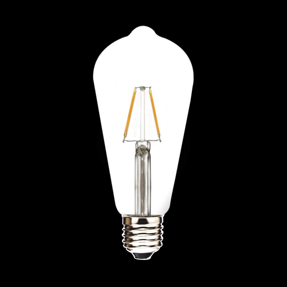 ST64 2W High Power LED Filament Lamp
