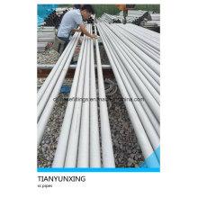 TP304 Tp316 Tp321 Tube de tuyau en acier inoxydable sans soudure