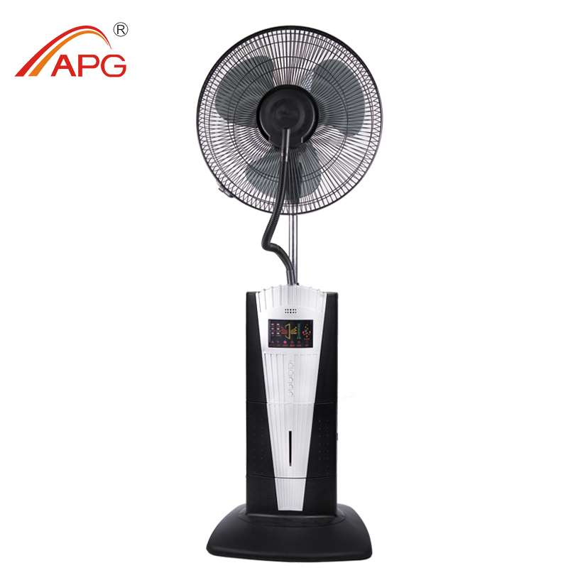 16 Inch Industrial Water Mist Stand Fan With Remote Control