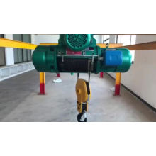 5 Ton Cd1/md Cable Hoist,110v Electric Chain Hoist with electric trolley
