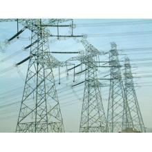 Tour de transmission de transmission électrique en acier